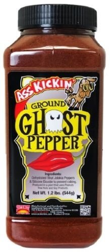 Ass Kickin Pure Ground Ghost Pepper - 1.2 lbs by ASS KICKIN'