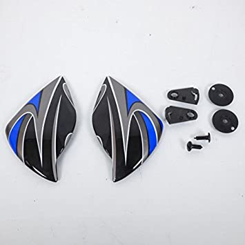 Par de bajada de visera para casco integral Zeus Helmet talla XS Neuf