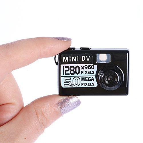 Kasstino 5MP HD Smallest Mini Spy Digital DV Camera Video Re