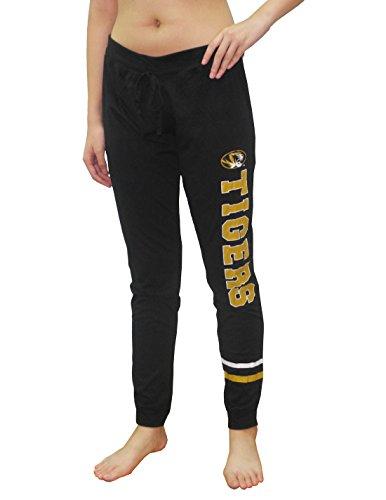 (MISSOURI TIGERS Womens NCAA Lounge / Yoga Pants XL Black)
