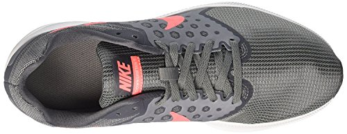 Nike Womens Downshifter 7 Grau (Cool Grey / Lava Glow / Dark Grey / White)