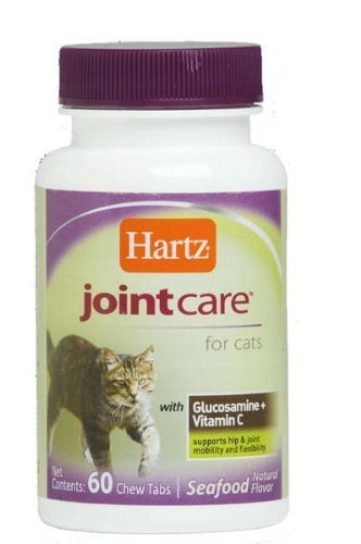 Hartz Joint Care for Cats, Tablets 60-Count (Pack of 3)