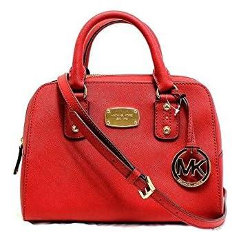 3d5e472e6282 ... order michael kors small satchel mandarin orange saffiano leather  handbag 9138a 4506d