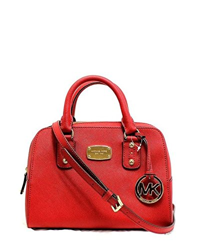 Michael Kors Mandarin Orange Saffiano Leather Small Satchel