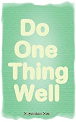 Do One Thing Well (English Edition)
