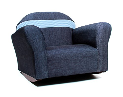Chair Bubble Club (KEET Bubble Rocking Kid's Chair, Denim/Blue)
