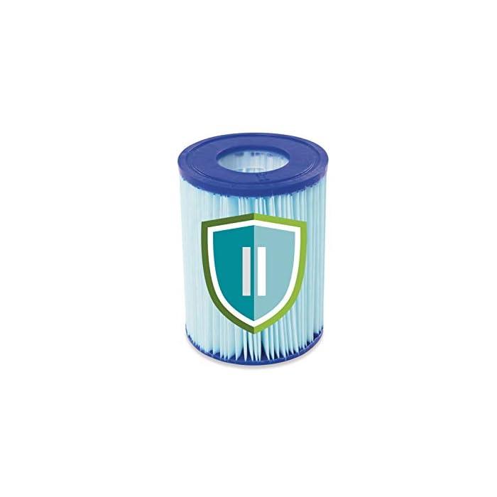 41tW1DAi0iL Capacidad de agua al 90% Relleno: 8.124 litros Construcción de acero tubular con revestimiento de protección contra la corrosión Extremadamente robusto material de 3 capas: tritech – PVCPolyester de tejidos de PVC laminado