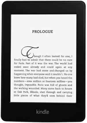 Amazon Kindle Paperwhite , 6-Inch, Wi-Fi, With Special Offers