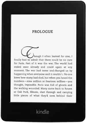 Amazon Kindle Paperwhite , 6-Inch, Wi-Fi, With Special Offers [Previous Generation - 5th]