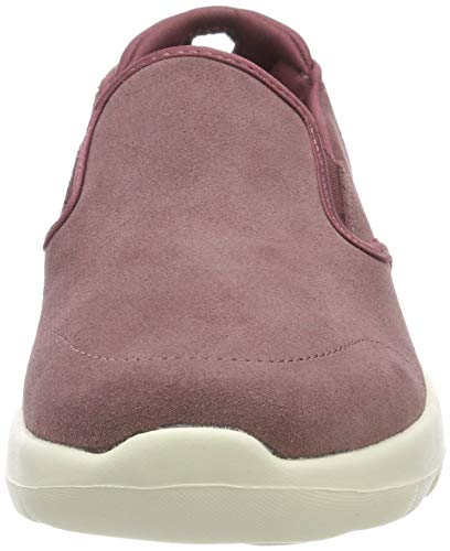 Mve Go Purple Mauve Women's Joy Predict Slip Skechers Trainers Walk On 5Rvawxq