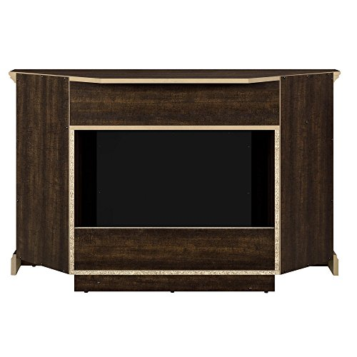 Ameriwood Home Overland Electric Corner Fireplace For Tvs