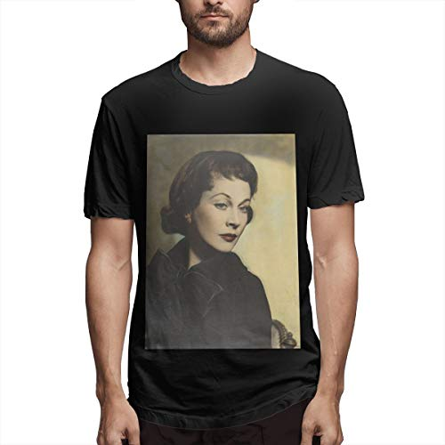BOBOEN Man Vivien Leigh Avantgarde Casual T-Shirt Black
