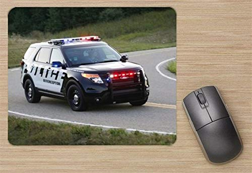 Ford Police Interceptor Utility Vehicle 2011 Mouse Pad, Printed Mousepad