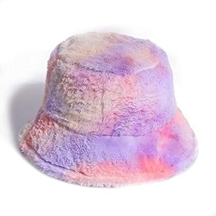 LJLLINGA Sombrero de imitación Rosa para Mujer, niña, Tinte ...