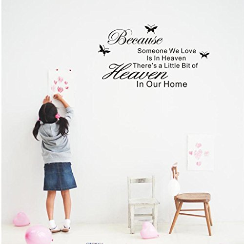 Wall Stickers,Baomabao DIY Removable Art PVC Wall Stickers Mural Home Room Decor (Price Is Right Halloween Special 2017)