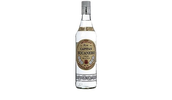 Capitán de Bucanero Viejo Blanco Rum, 1er Pack (1 x 700 ml ...