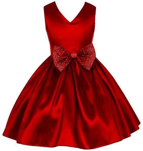 pink wings girls party wear frock mehroon amazon in clothing