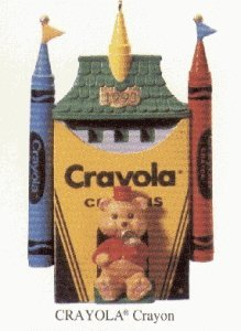 Ornament Crayola - Crayola Crayon 5th in Series 1993 Hallmark Ornament