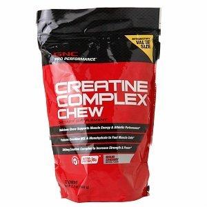 GNC Pro Performance Créatine Complexe Chew, griotte 72 ch