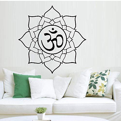 Amazon.com: Wall Stickers Murals Yoga Mandala Meditation ...