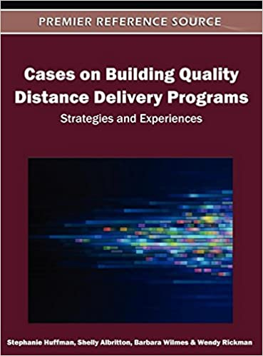 Amazon Cases On Building Quality Distance Delivery Programs