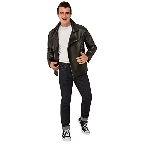T Birds Jacket Costume (Rubie's Costume Co. Men's Grease, T-Birds Plus Jacket, As Shown, One Size)