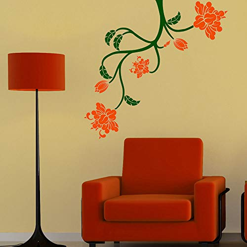 sulener Quotes Wall Sticker Mural Decal Art Home Decor Flowering Branch for Living (Penn State Wall Mirror)