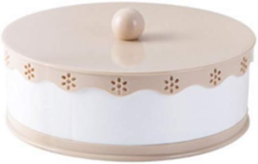 5 Rejillas Snack-Bandeja para Servir Dobles-Layers Caramelo Caja con Tapa Hueco del Plato del Caramelo Tabla de la Boda decoración de Frutas secas Caramelo Snacks Beige: Amazon.es: Equipaje