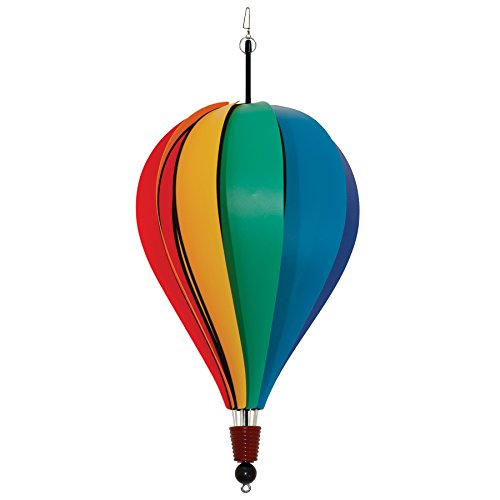 hot air balloon wind spinners - 1