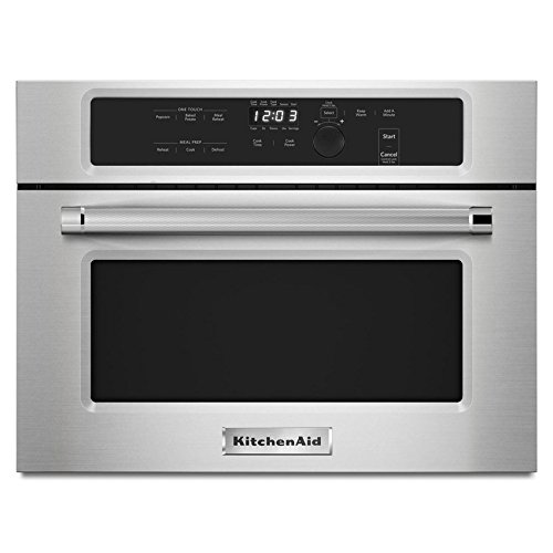 KitchenAid 1.4 Cu. Ft. Built-In Microwave Stainless Steel KMBS104ESS