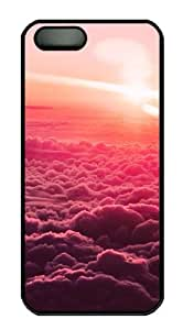 Above the Rest Polycarbonate Custom iPhone 5S/5 Case Cover - Black