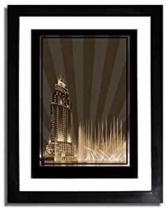 Address Hotel Down Town- Sepia No Text F07-nm (a1) - Framed