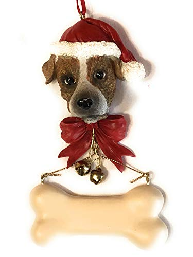 Jack Russell Terrier Dog Christmas Ornament, Jack Russell Terrier Dog Lover Xmas Gift