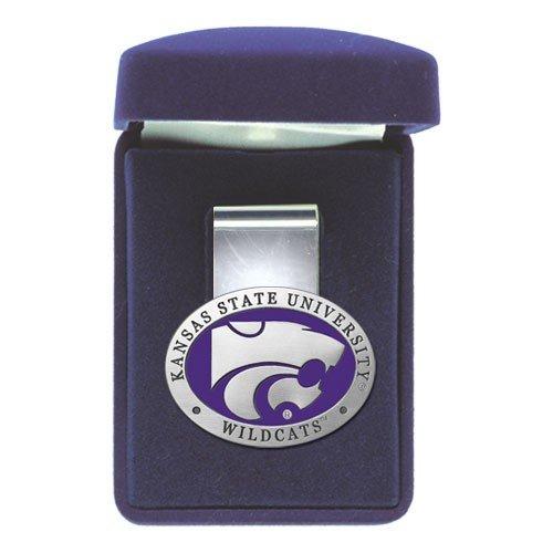 Heritage Pewter Kansas State Wildcats Money Clip
