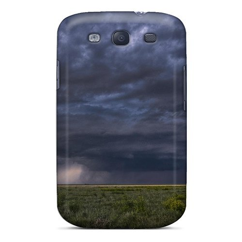 New Galaxy S3 Case Cover Casing(tornado Developing)