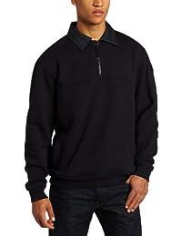 Tactical #72301 Job Shirt with Denim Details (Fire Navy)