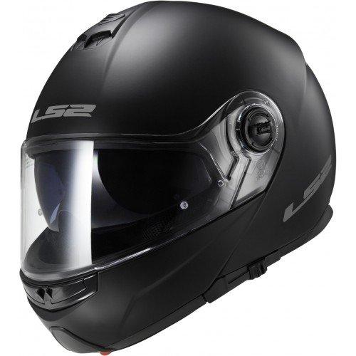 LS2 Casque moto STROBE MAT Noir - L, Noir, Taille L