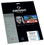 Canson Infinity- Montval Aquarelle 310gsm (Ten 8.5x11 Inch Sheets)