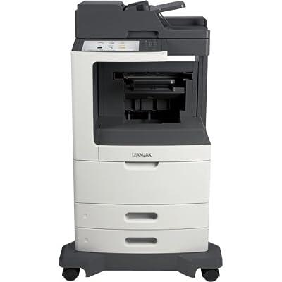 Lexmark Mx810de Laser Multifunction Printer . Monochrome . Plain Paper Print . Desktop . Copier/Fax/Printer/Scanner . 55 Ppm Mono Print . 1200 X 1200 Dpi Print . 55 Cpm Mono Copy . Touchscreen . 600 Dpi Optical Scan . Automatic Duplex Print . 1200 Sheets