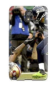 Galaxy Note 3 Case, Premium Protective Case With Awesome Look - Seattleeahawks