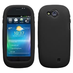 MyBat Soft Silicone Skin Case for DELL Aero - Black