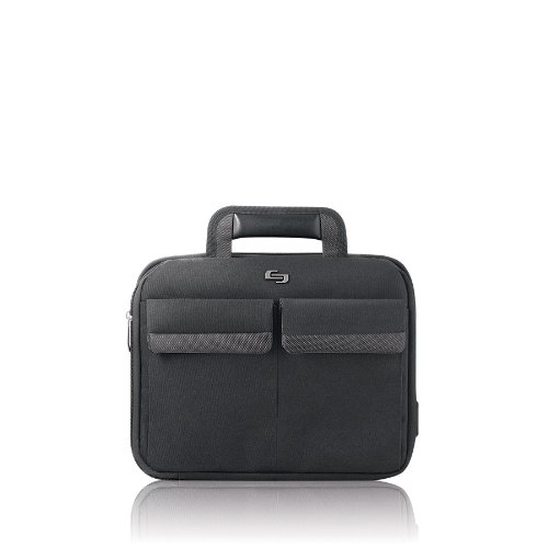 Solo Sterling Collection CheckFast Airport Security-Friendly Netbook Case for Netbooks up to 11.6 Inches, Black (CLA115-4)