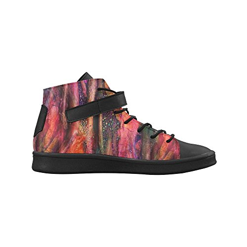 D-Story Round Toe High Top Shoes Tree Dreams Womens Sneakers C4fFF5