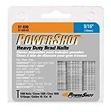 Arrow Fastener 97-030 Genuine PowerShot 9/16-Inch Brad Nails, 1,600-Pack фото