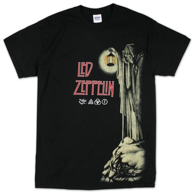 RGM827 Led Zepellin Hermit Camiseta tamaño: MEDIO Rock Guitar Miniatures