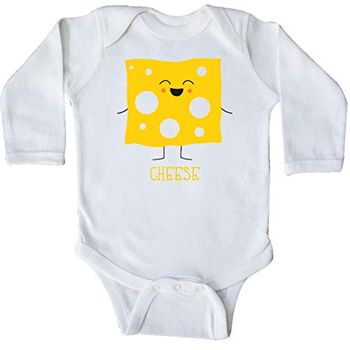 inktastic - Cheese Costume Long Sleeve Creeper 6 Months White 31d0e -