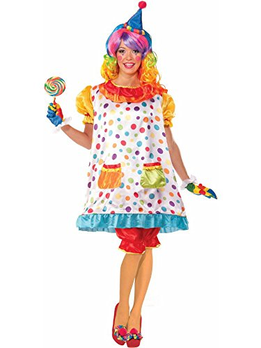 Forum Novelties Women's Wiggles The Clown Costume, Multi, Standard -