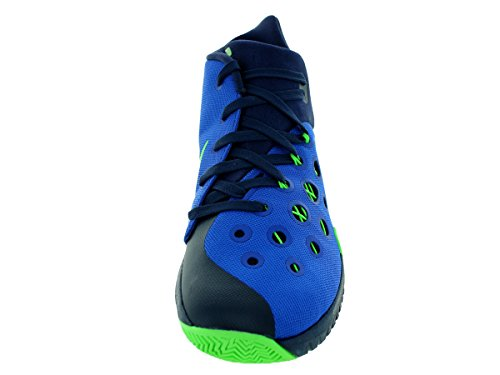 Nike Mens Zoom Hyperquickness 2015 Game Royal/Grn Strike/Mid Nvy Basketball Shoe 9.5 Men US