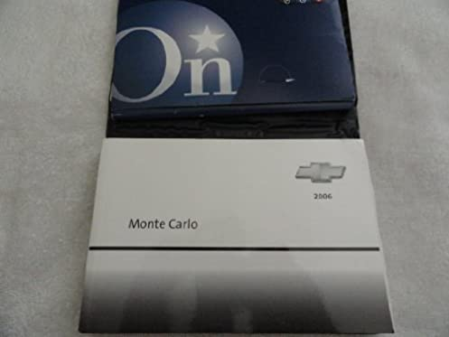 2006 chevy chevrolet monte carlo owners manual chevrolet amazon rh amazon com 2006 chevy monte carlo ss owners manual 2006 monte carlo lt owners manual