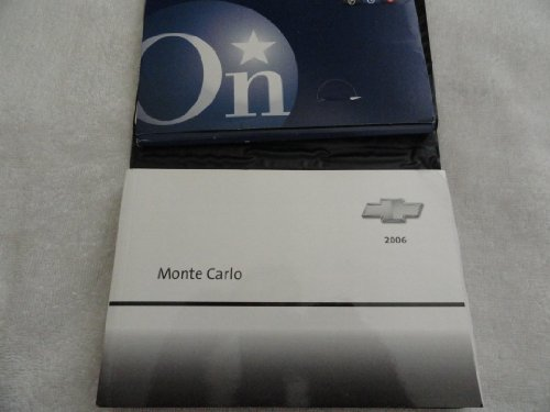 2006 Chevy Chevrolet Monte Carlo Owners Manual